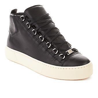 Balenciaga mænds Arena High Top Sneaker sko sort
