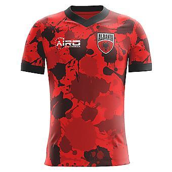 2018-2019 Албания Главная концепция футболка