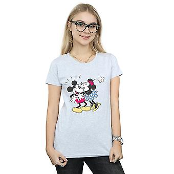 Disney kvinners Mikke og Minni Mus kysse t-skjorte