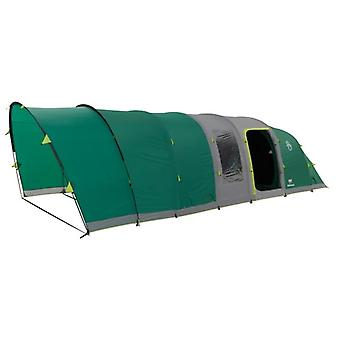 Coleman Fastpitch Large Air Valdes 6 Tent - Green + Free Electric Cooler