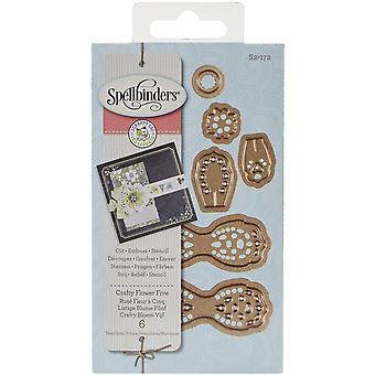 Spellbinders Designer Die-Crafty Flower 5 By Scrappy Cat