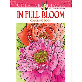 Dover Publications-Creative Haven: In Full Bloom