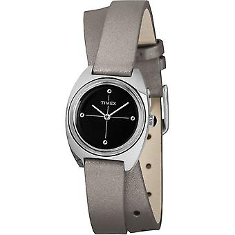 Timex ladies Watch Milano double-wrap 24 mm leather TW2R69900