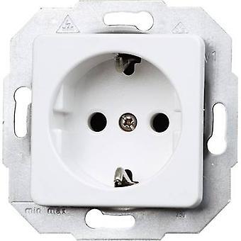 Kopp Insert PG socket Europa Arctic white, Matt 113613087