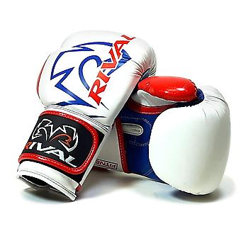 Rival RB7 Fitnessplus Bag Boxing Gloves - White Red