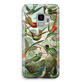 Samsung Galaxy S9 vollen Druck Fall (glänzend) - Haeckel Trochilidae