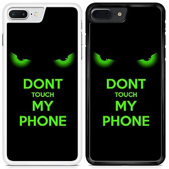 Do Not Touch Custom Designed Printed Phone Case For Samsung Galaxy A8 2018 DTMF3 / White
