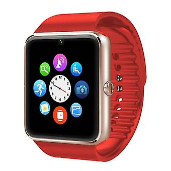 Stuff Certified ® Original GT08 Smartphone Watch OLED SmartWatch Android iOS Red