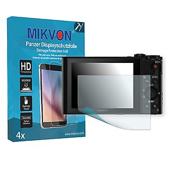 Sony DSC-WX500 Screen Protector - Mikvon Armor Screen Protector (Retail Package with accessories)