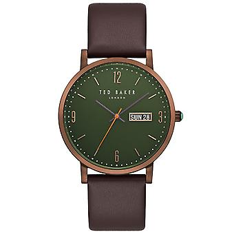 Ted Baker mens watch brown