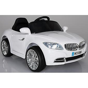 BMW Coupe Style 12V Electric Ride on Car White