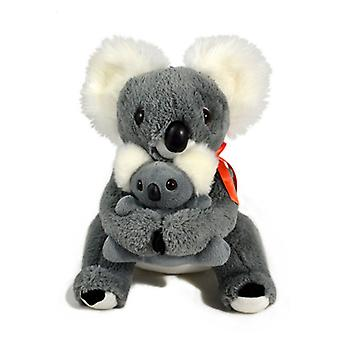 Jumbuck 28cm Koala Mother w/ Baby