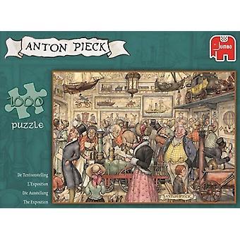 Jumbo puzzel Anton Pieck Expositie 1000p