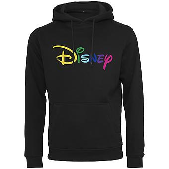 Merchcode Fleece Hoody - Disney Rainbow logo EMB