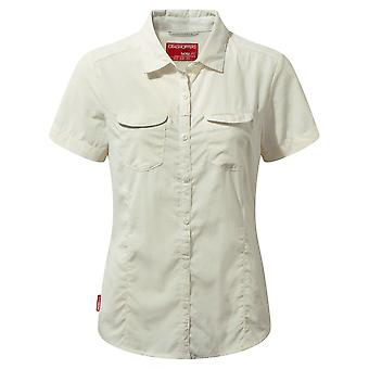 CRAGHOPPERS WOMENS NOSILIFE ADVENTURE SHORT SLEEVE SHIRT