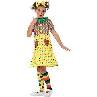 Mädchen Clown Zirkus Kostüm, Kostüm Mädchen, mittlere Alter 7-9