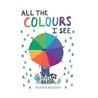 All the Colours I See by Allegra Agliardi - 9781849765145 Book