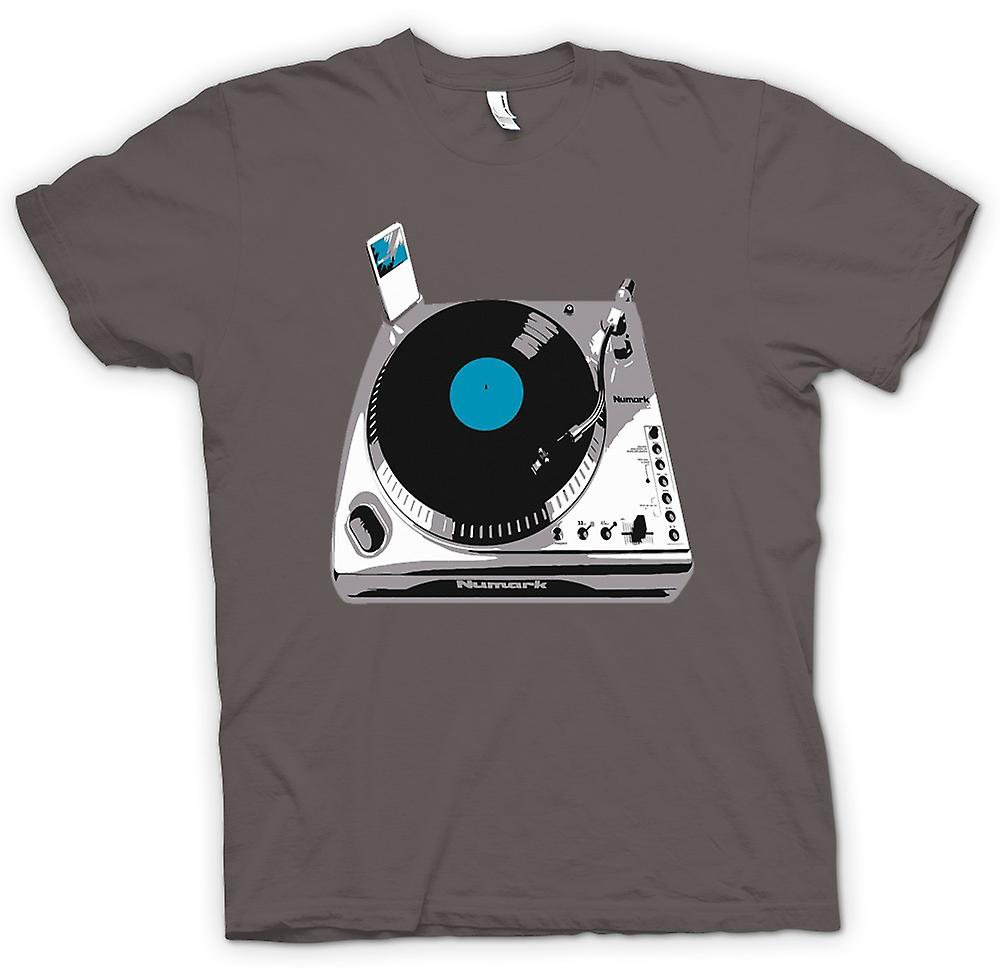 Mens T-shirt - DJ iPod Decks