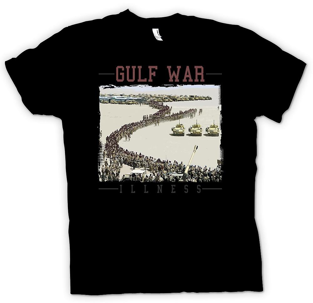 Womens T-shirt-Gulf War sjukdom konspiration