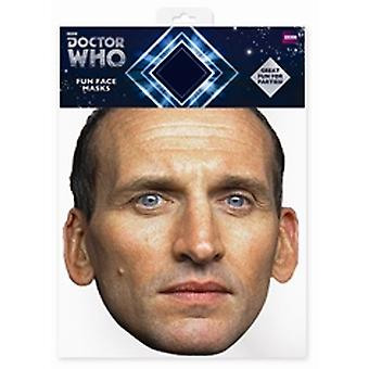 Christopher Eccleston Doctor Who kaart gezichtsmasker (de negende Doctor)