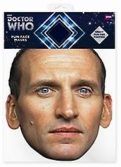 Christopher Eccleston Doctor Who Card Face Mask (The Ninth Doctor)