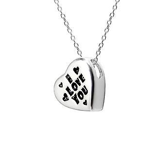 Cuore - 925 Sterling Silver pianura collane - W13136X