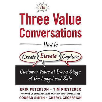 De drie gesprekken van de waarde: Hoe maken, verheffen, en vastleggen van klantwaarde in elke fase van de lange-voorsprong...