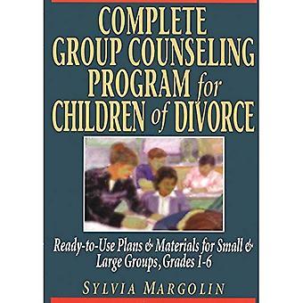 Programme de counseling de groupe complet pour les enfants du divorce