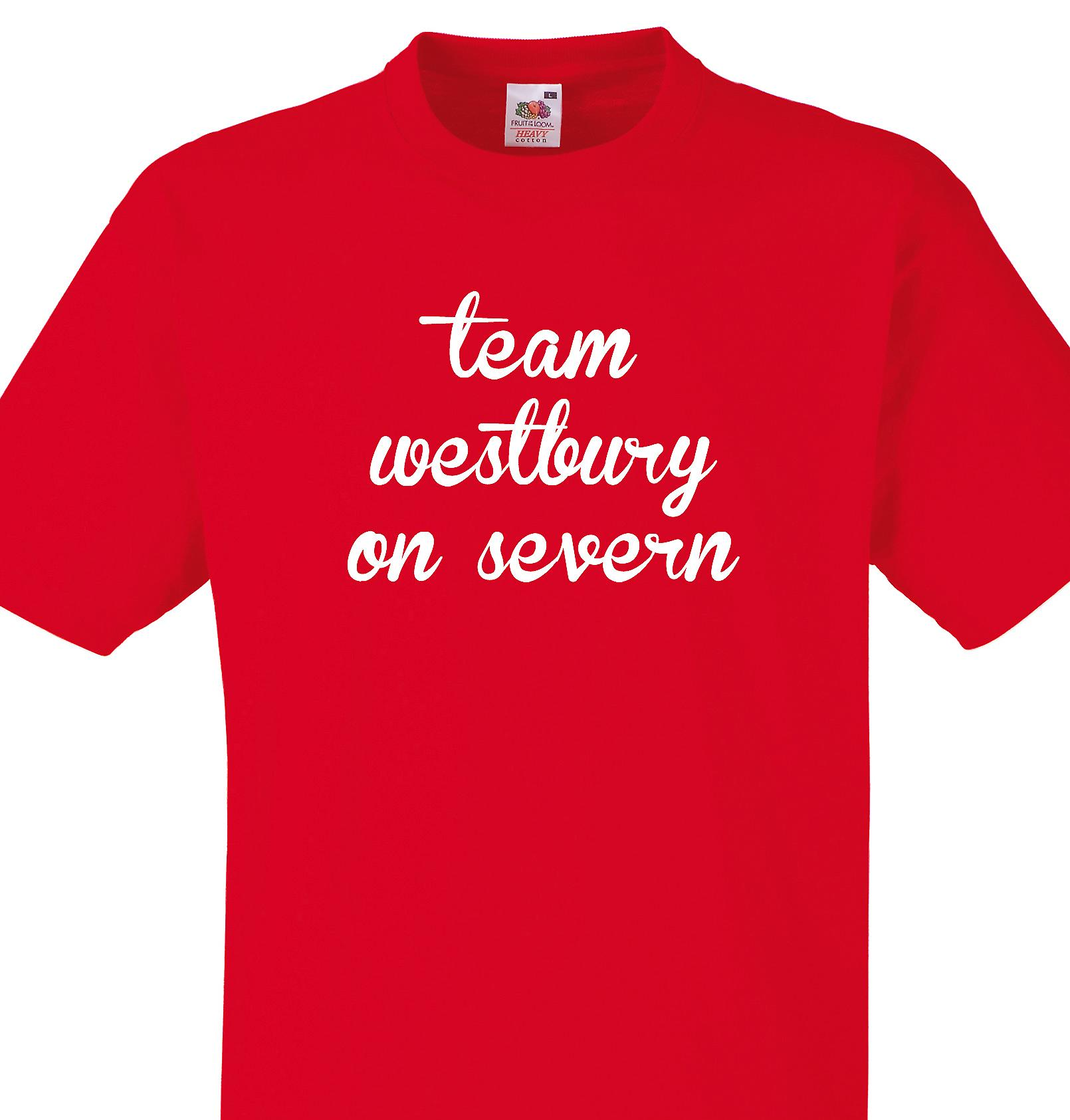Team Westbury on severn Red T shirt