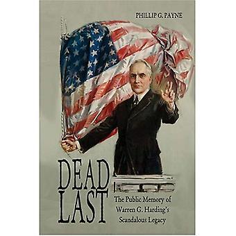 Última: A memória pública do legado escandalosa de Harding