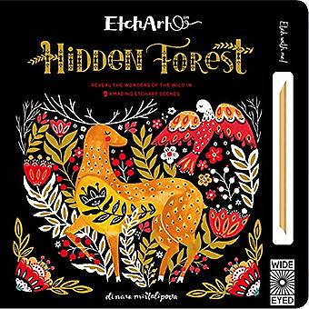 Etchart: Hidden Forest: Reveal the wonders of the wild in 9 amazing Etchart scenes (Etchart)