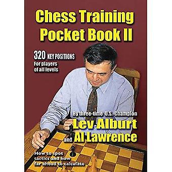 Chess Training Pocket bok: Nr 2: Hur platsen taktik och hur långt fram att beräkna