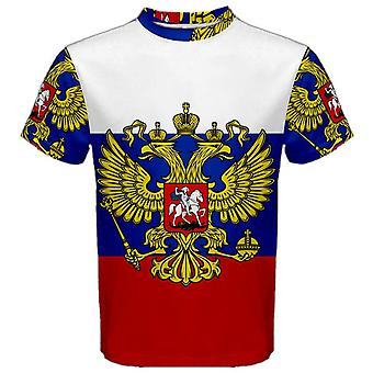 Russian Federation Coat of Arms Sublimated Sports Jersey