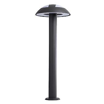 Glasberg - Dark Grey Led Mushroom Bollard 807042301
