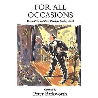 För alla tillfällen av Barkworth & kompilerade Peter