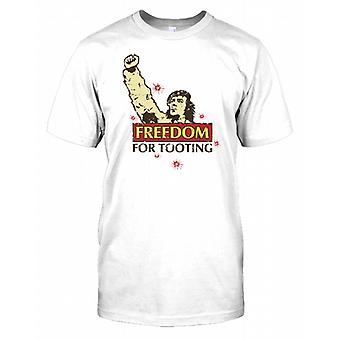 Freedom For Tooting - Funny Mens T Shirt