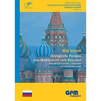 Strategische Projekte zum Markteintritt nach Russland by Schmitt & Mila