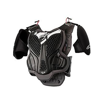 Alpinestars Black-Grey A-5S Kids MX Body Armour