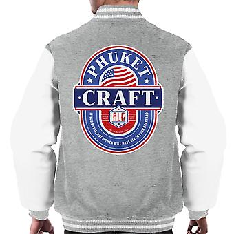 Phuket Craft Ale Men's Varsity Jacket