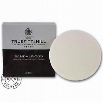 Truefitt and Hill Sandalwood Shaving Soap Refill 99g