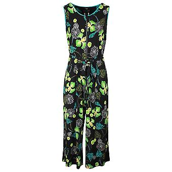 Frank Lyman Wide Leg Sleeveless Printed Jumpsuit