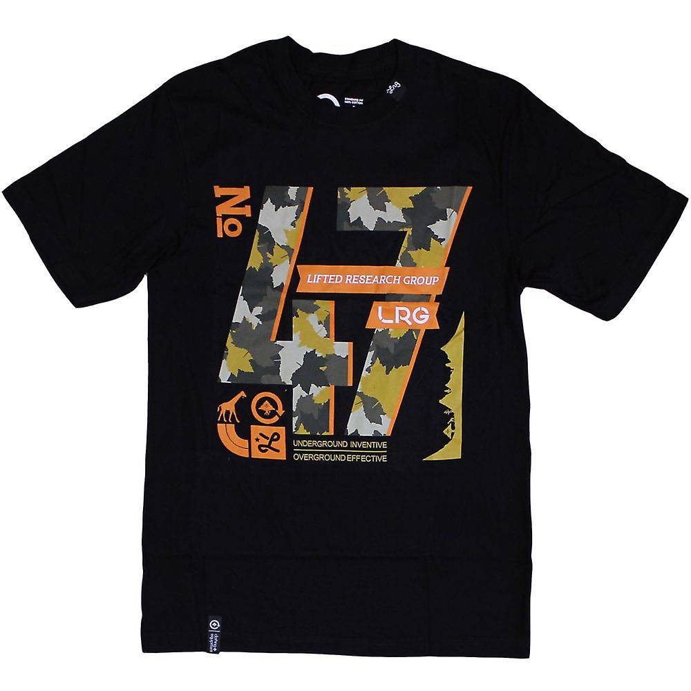Lrg Core Collection 47 T-shirt Schwarz