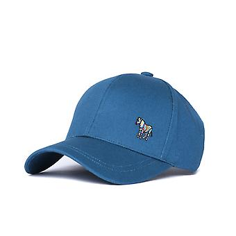 PS Paul Smith Zebra Teal Baseball Cap