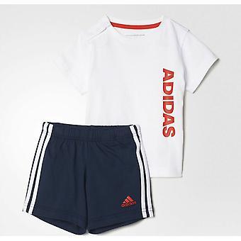 Adidas Linear Logo Summer Set Infant T-Shirt & Shorts Set
