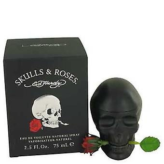 Skulls & Roses By Christian Audigier Eau De Toilette Spray 2.5 Oz (men) V728-536548