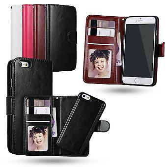 Iphone 7 Plus / 8 Plus - Plånboksfodral / Magnet Skal
