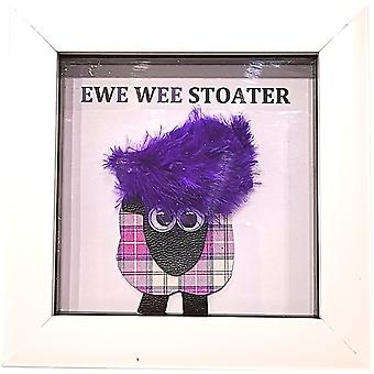 Wee Bee Gifts Ewe Wee Stoater Purple Sheep