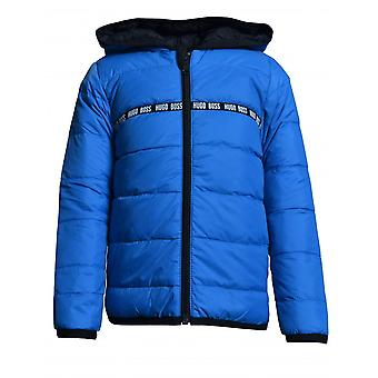 Hugo Boss Boys Hugo Boss Infant Boys Elektrische blaue Reversible Puffer Jacke