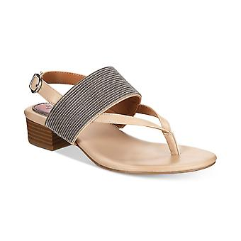 Style & Co. Womens Marxie Leather Open Toe Casual Slingback Sandals