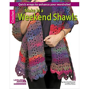 Leisure Arts Make In A Weekend Shawls La 5629